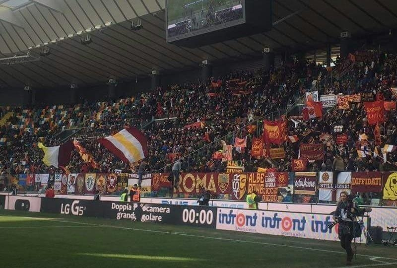 Roma supporter