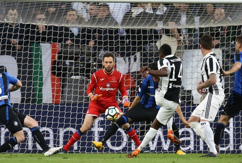 Una occasione per la Juventus nel primo