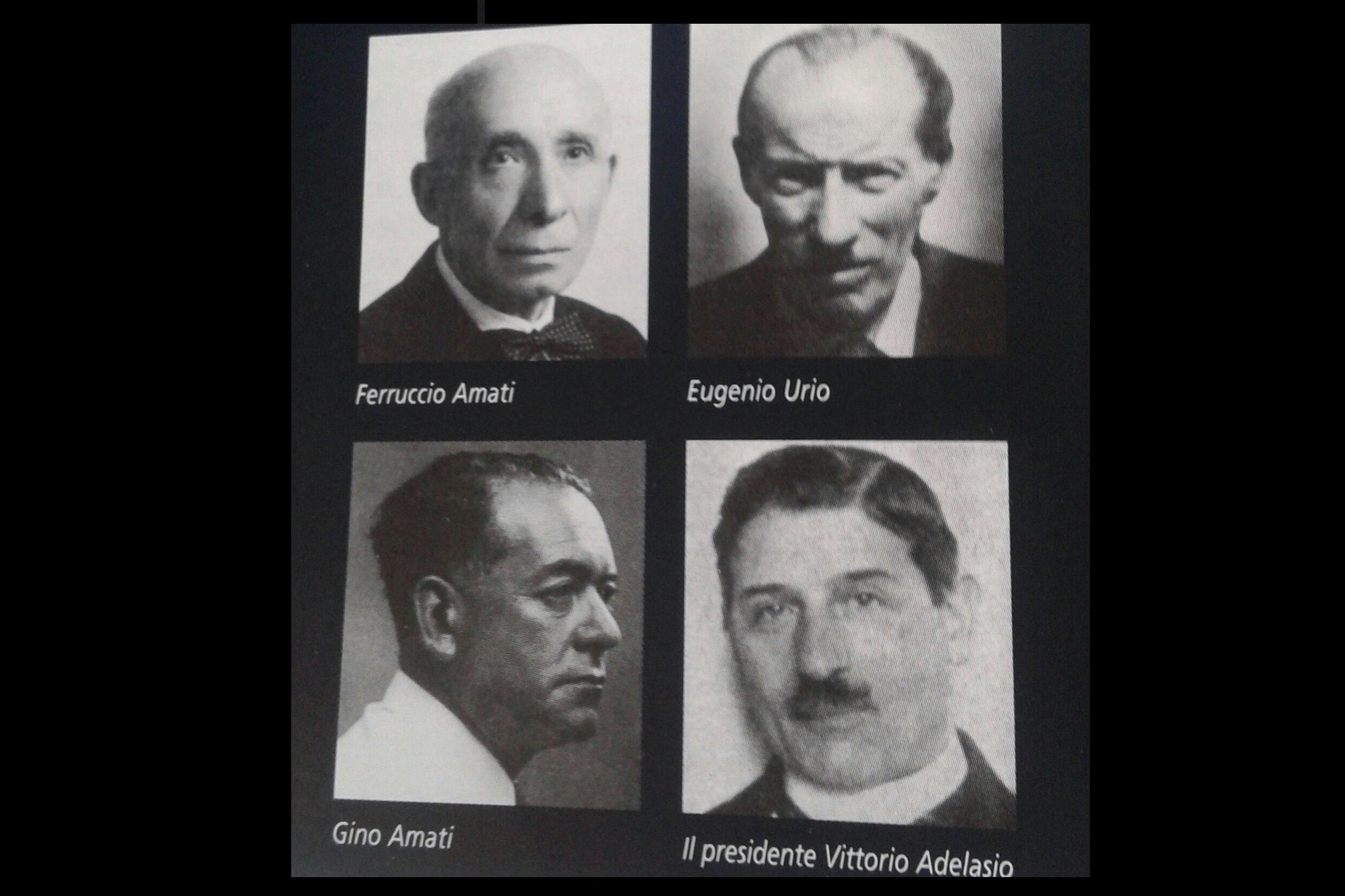 I padri fondatori dellAtalanta