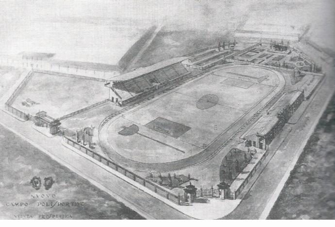 progetto stadio Brumana