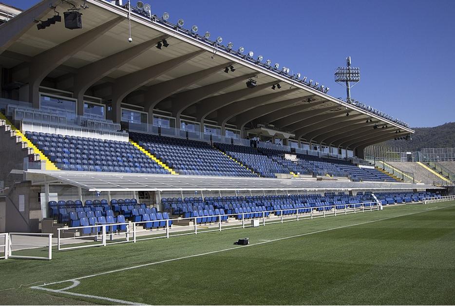 Tribuna Stadio Atleti Azzurri DItalia