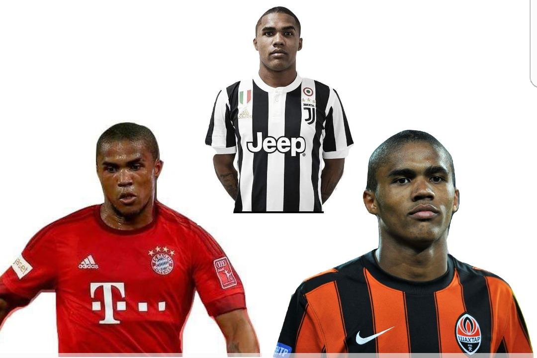 Le tre squadre di Douglas Costa: Bayern, Shaktar e Juventus